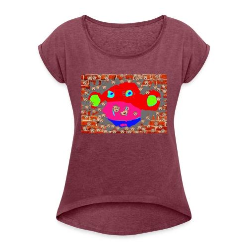 monkey by brax - Women's Roll Cuff T-Shirt