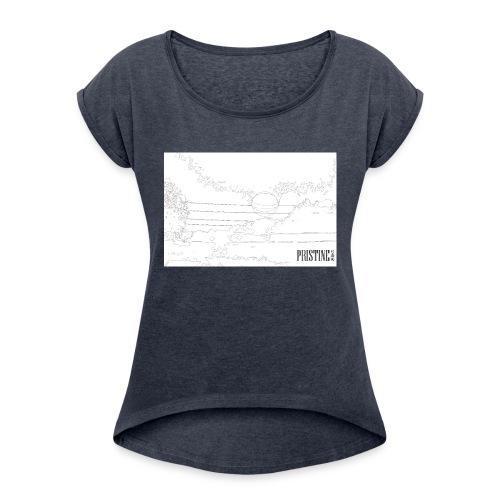 SunLines - Women's Roll Cuff T-Shirt