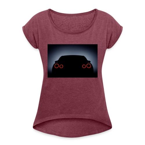 Nissan GTR - Women's Roll Cuff T-Shirt