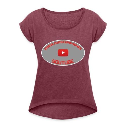 2iguys Gaming - Women's Roll Cuff T-Shirt