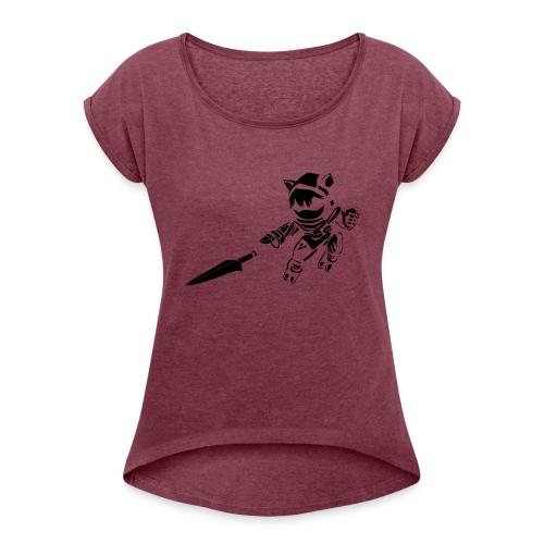 Kennen - Women's Roll Cuff T-Shirt