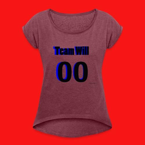 Team Will - Women's Roll Cuff T-Shirt