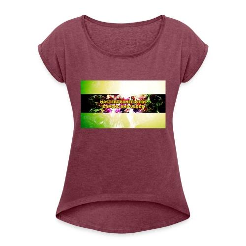 FotoJet_Design - Women's Roll Cuff T-Shirt