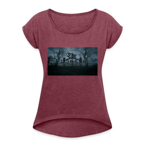 23 I.G.C fam - Women's Roll Cuff T-Shirt