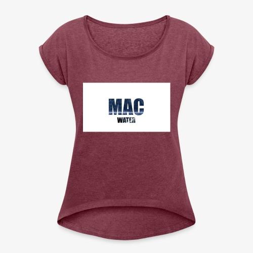 WATER - Women's Roll Cuff T-Shirt