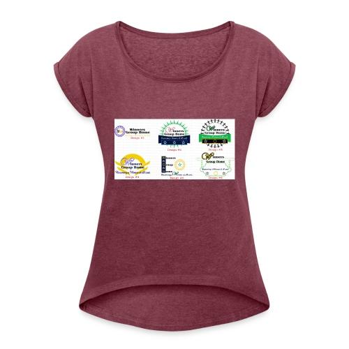 Winners Group Home - Women's Roll Cuff T-Shirt
