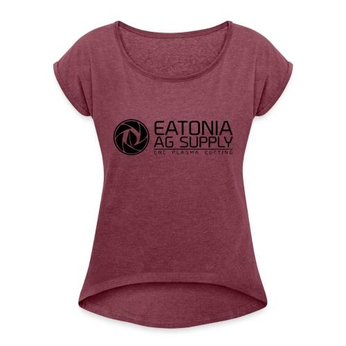 EAS CNC 2 - Women's Roll Cuff T-Shirt