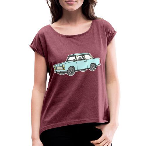 Trabant (lightblue) - Women's Roll Cuff T-Shirt