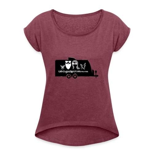 LTBA Trailer - Women's Roll Cuff T-Shirt