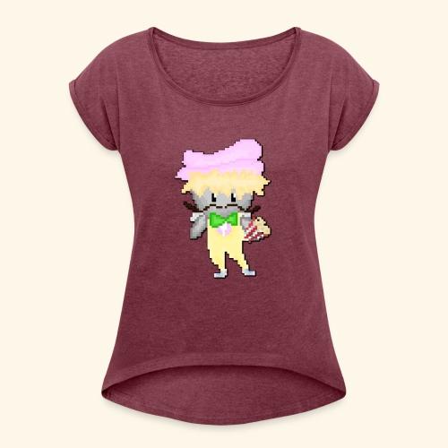 Putatutopia Art - Women's Roll Cuff T-Shirt