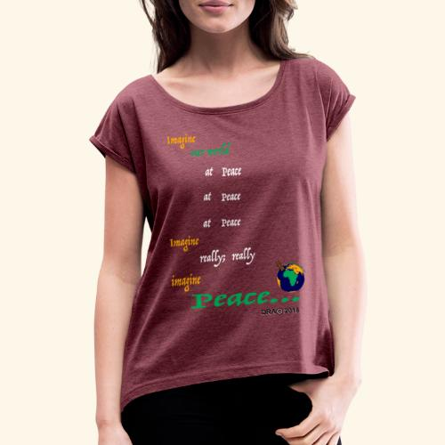ReallyW - Women's Roll Cuff T-Shirt