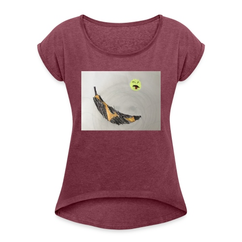 Bad Banana - Women's Roll Cuff T-Shirt