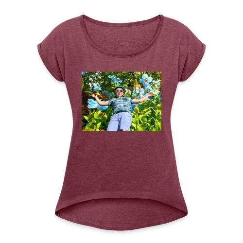 #banger - Women's Roll Cuff T-Shirt