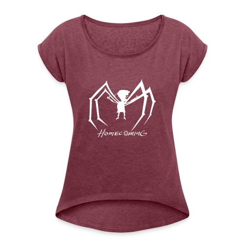 Zim Homecoming! - Women's Roll Cuff T-Shirt