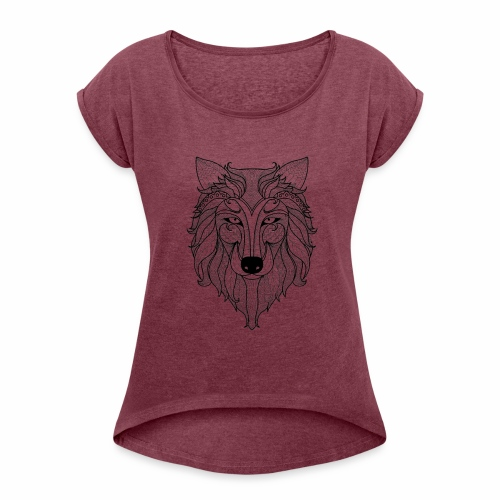 Classy Fox - Women's Roll Cuff T-Shirt