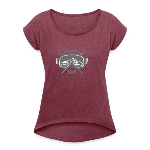 design-08 - Women's Roll Cuff T-Shirt