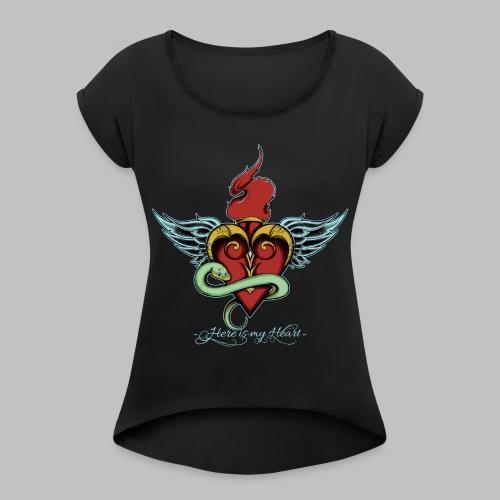 Working Art - Women's Roll Cuff T-Shirt