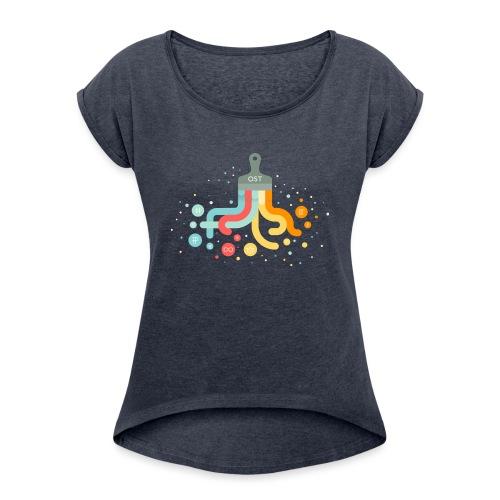 OST design - Women's Roll Cuff T-Shirt