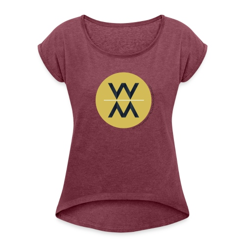 Womens Movement Collaborative 2018 Fall Line - Women's Roll Cuff T-Shirt