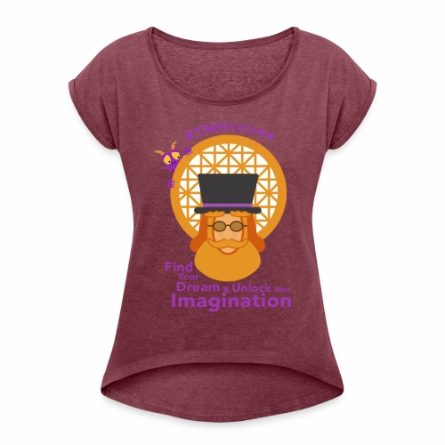 Finder of Dreams - TMR - Women's Roll Cuff T-Shirt