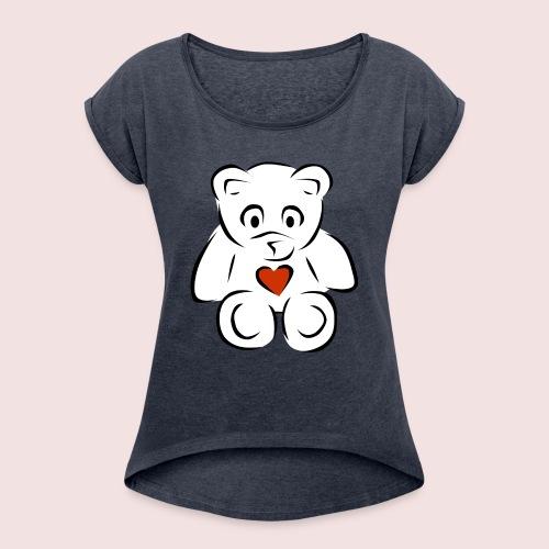 Sweethear - Women's Roll Cuff T-Shirt