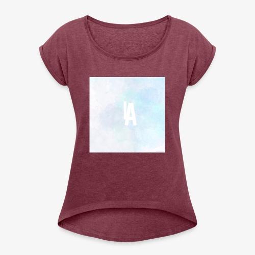 1850321E 441C 4392 86BB 59E613B8541F - Women's Roll Cuff T-Shirt
