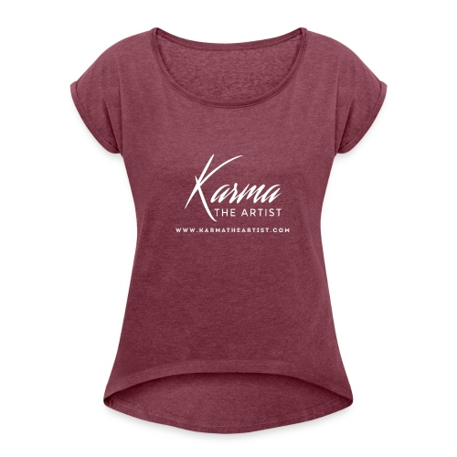 Karma - Women's Roll Cuff T-Shirt