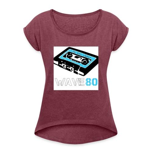 Alt Logo - Women's Roll Cuff T-Shirt