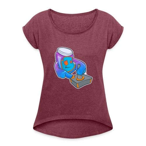 Game Jam - Women's Roll Cuff T-Shirt