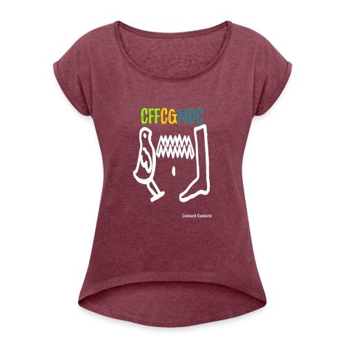 Cunnuck Comforts - Women's Roll Cuff T-Shirt