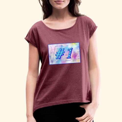 Top Nerd - Women's Roll Cuff T-Shirt