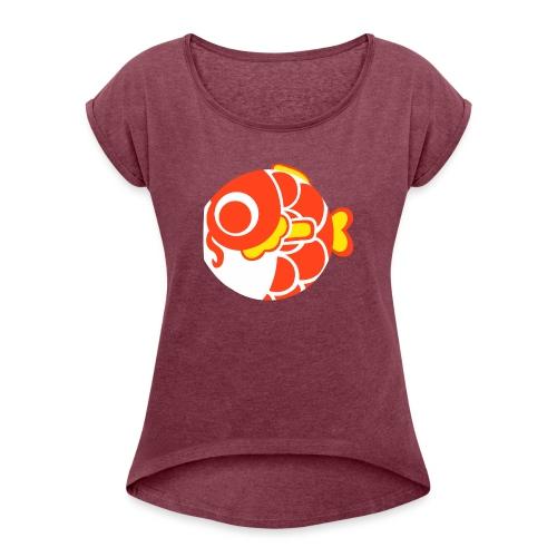 KOI - Women's Roll Cuff T-Shirt