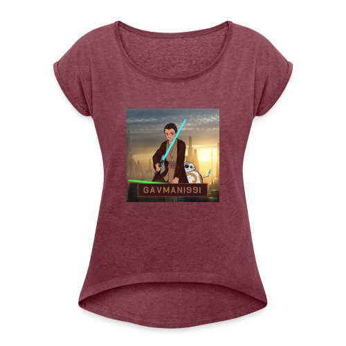 Gavman1991 - Women's Roll Cuff T-Shirt