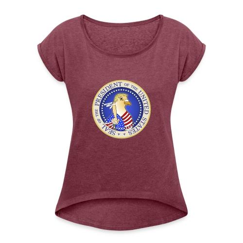 Trumpigeon - Women's Roll Cuff T-Shirt