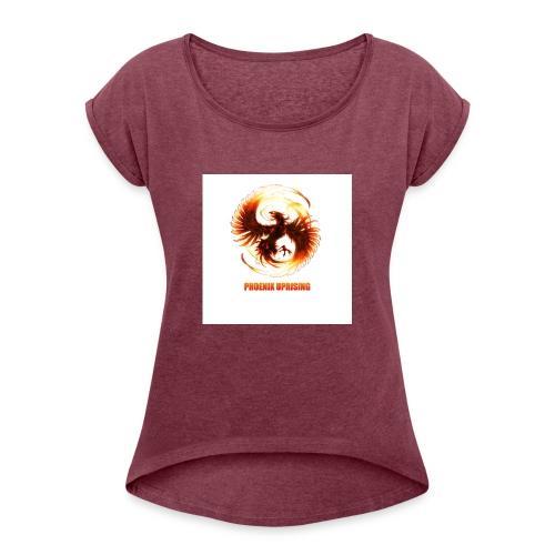 uprising merch - Women's Roll Cuff T-Shirt