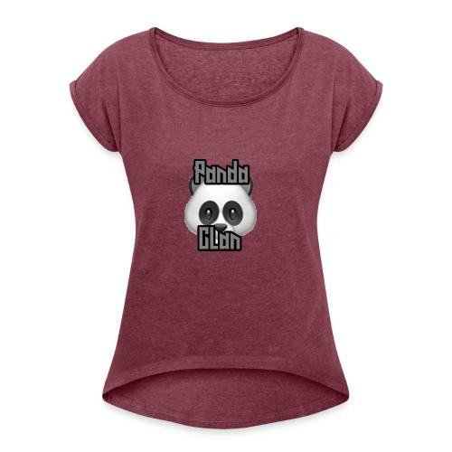 PandaClan - Women's Roll Cuff T-Shirt