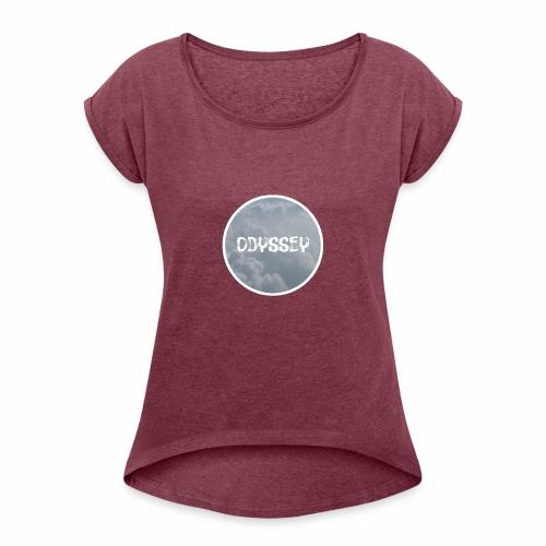 CircleOdyssey - Women's Roll Cuff T-Shirt