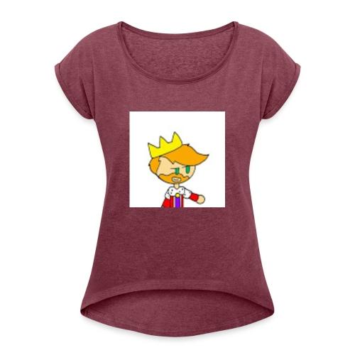 Hopps Logo Portable - Women's Roll Cuff T-Shirt