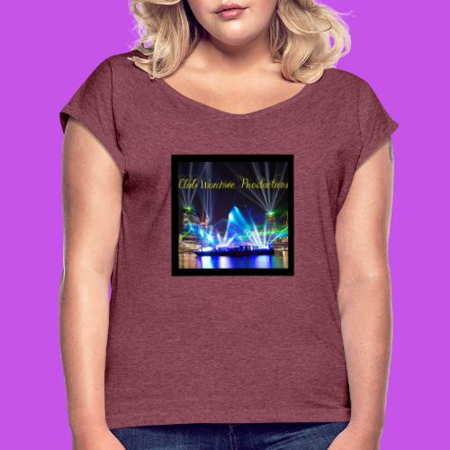 Club Wormie Productions 3 - Women's Roll Cuff T-Shirt