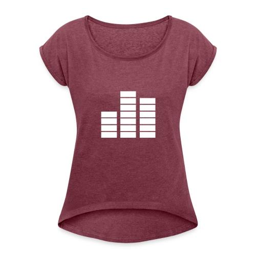 Fouzoradio - Women's Roll Cuff T-Shirt