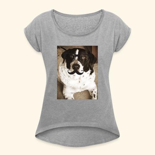 Old Pongo - Women's Roll Cuff T-Shirt