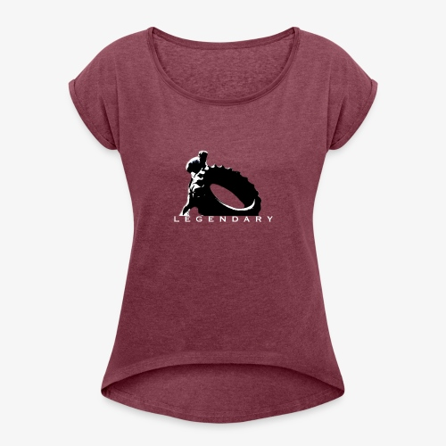 IMG 0481 - Women's Roll Cuff T-Shirt