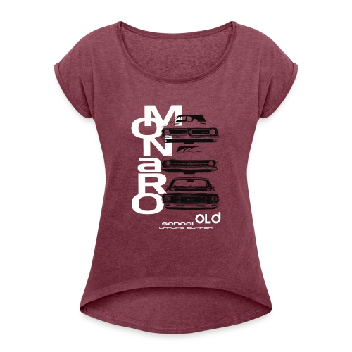 monaro over - Women's Roll Cuff T-Shirt