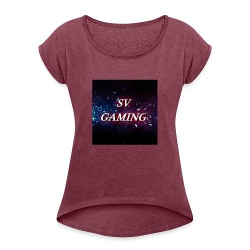 Cool SV Gaming - Women's Roll Cuff T-Shirt