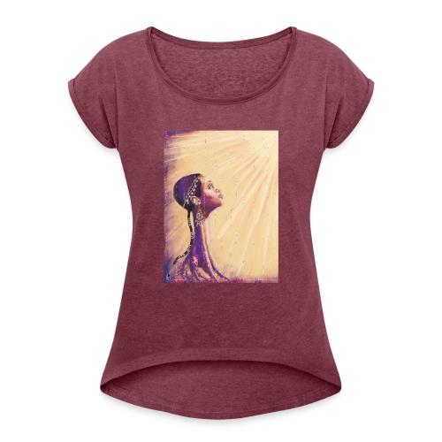 Freeing myself Clothing - Women's Roll Cuff T-Shirt