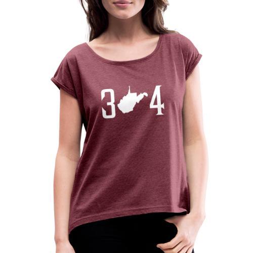 304 - Women's Roll Cuff T-Shirt