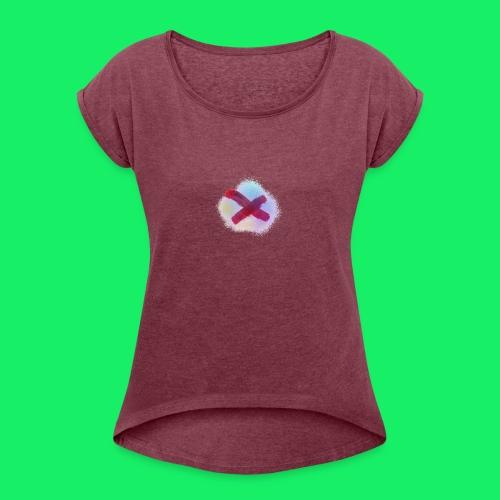 starter splash - Women's Roll Cuff T-Shirt