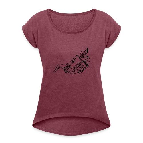 Jiu Jitsu / Judo - Women's Roll Cuff T-Shirt