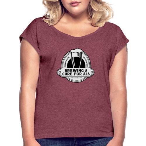 Brewing A Cure Logo Merchandise - Women's Roll Cuff T-Shirt