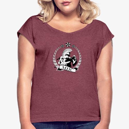 MHC - Banner - Women's Roll Cuff T-Shirt